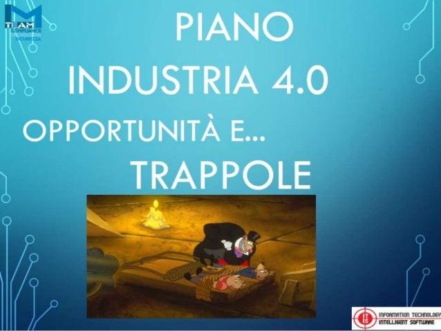 Industria 4.0 - Rivoluzione Digitale - Quali opportunità per le aziende del territorio Alto Lago di Como