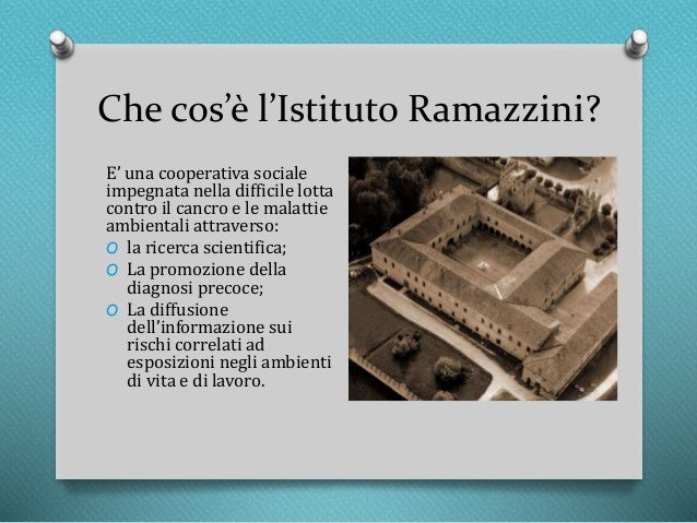 """Résultat de recherche d'images pour """"instituto ramazzini"""""""