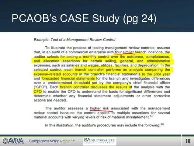 Itgc case study