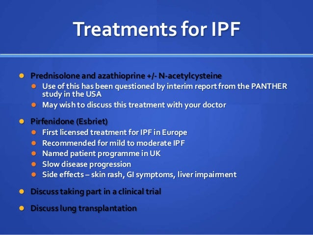 Ipf Webinar For The British Lung Foundation 2012 Dr Helen
