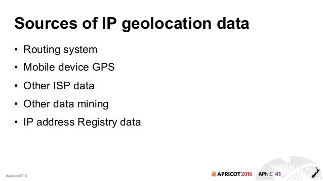 IP based Geolocation and Whois database