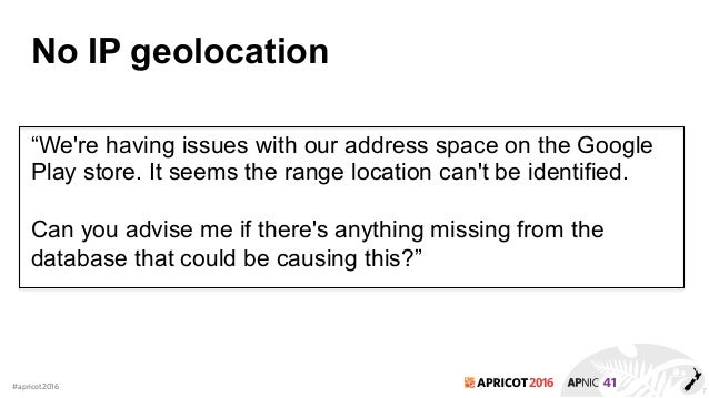 Geolocate the Location of an IP Address | Geolocation