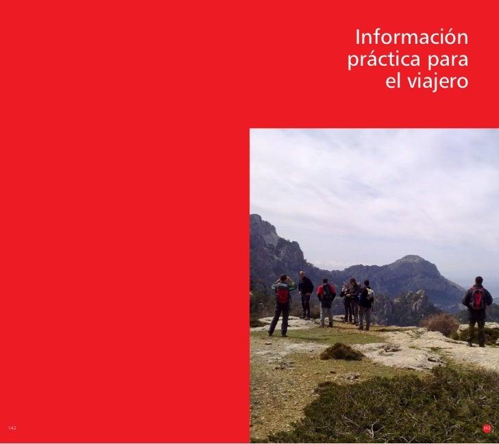 Información      práctica para          el viajero142                    143