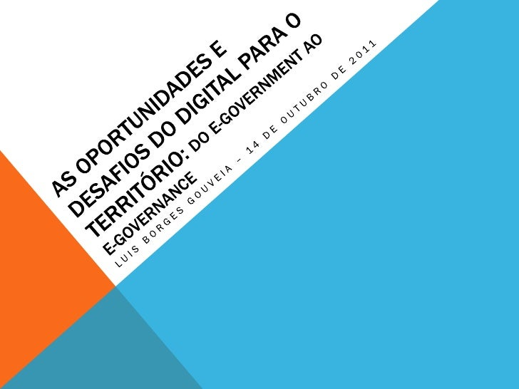 PalestraSistemas de Informação na Administração PúblicaMestrado em Gestão, do ramo de Administração Pública,Escola Superio...