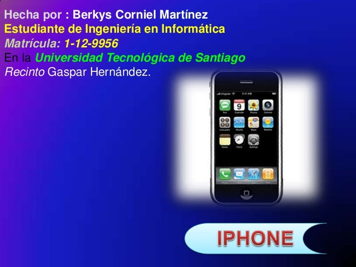 Hecha por : Berkys Corniel MartínezEstudiante de Ingeniería en InformáticaMatrícula: 1-12-9956En la Universidad Tecnológic...