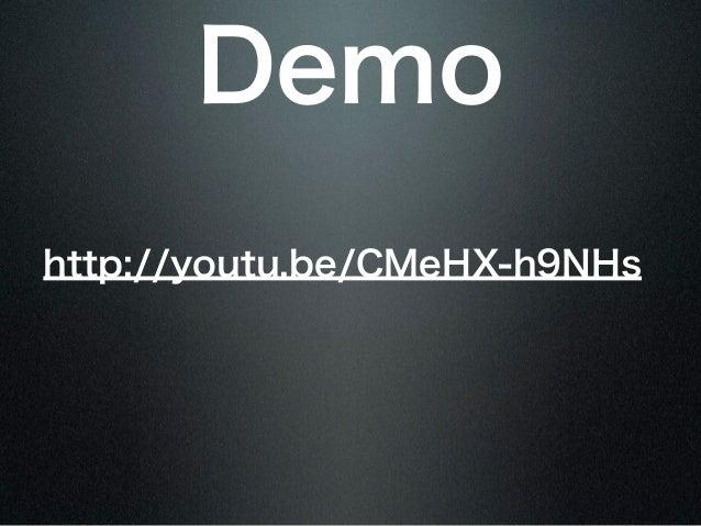 Demohttp://youtu.be/CMeHX-h9NHs