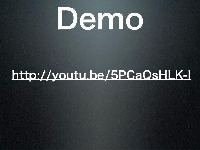 Demohttp://youtu.be/5PCaQsHLK-I