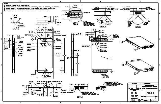 Blueprint del iPhone 5