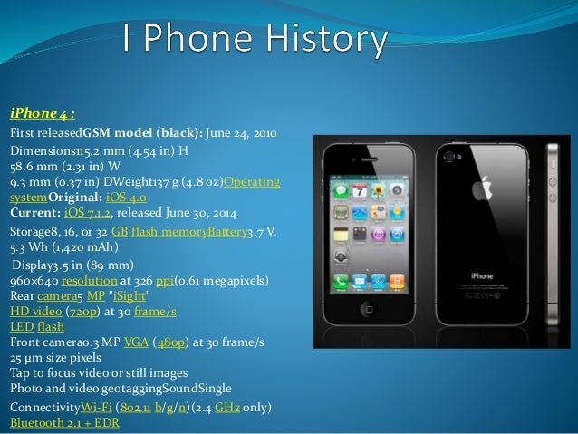 IPhone 4 First ReleasedGSM Model