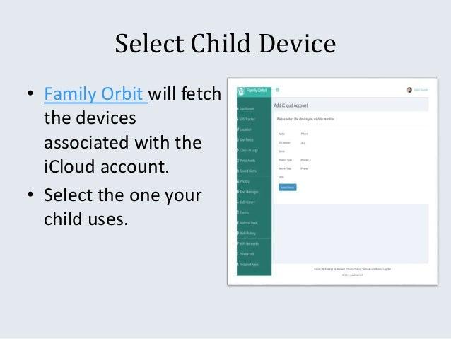 Family monitoring software