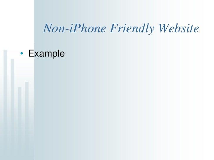 web application development for iphone