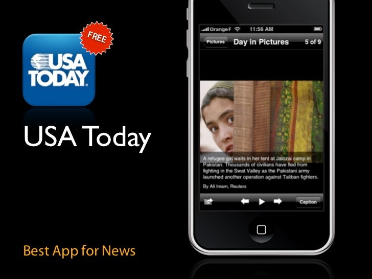 FRE             E     USA Today   Best App for News