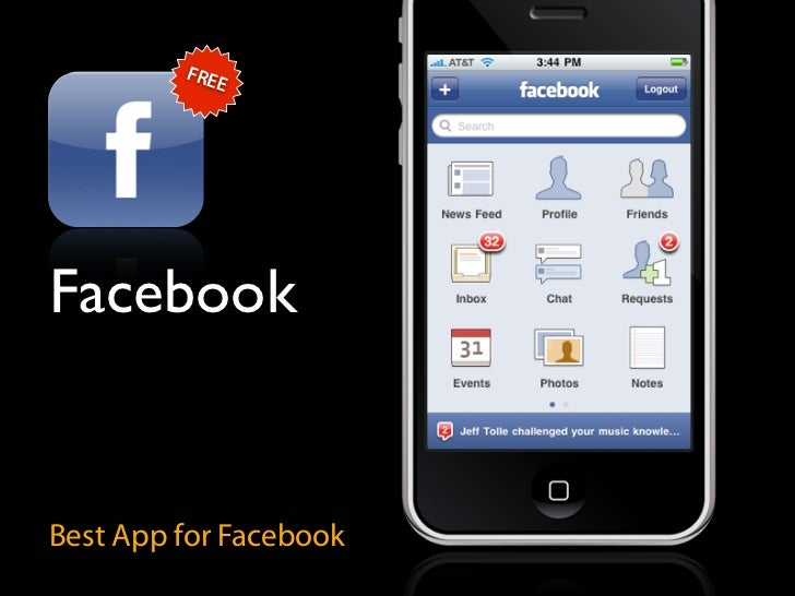 FRE             E     Facebook   Best App for Facebook
