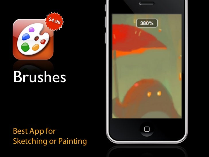 $4.9               9     Brushes   Best App for Sketching or Painting