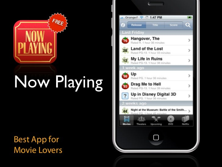 FRE             E     Now Playing   Best App for Movie Lovers