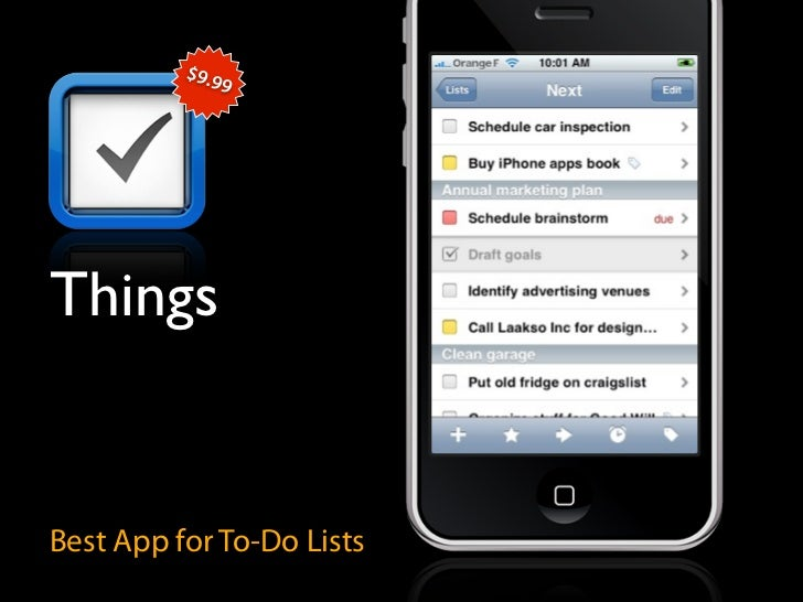 $9.9                9     Things   Best App for To-Do Lists