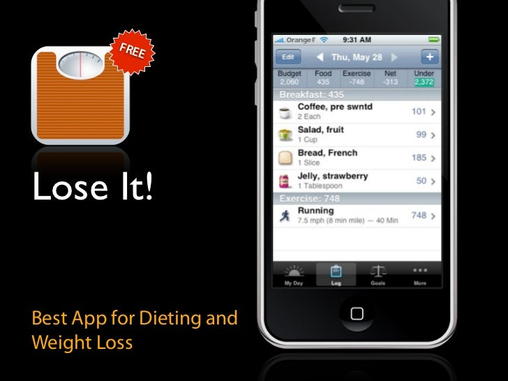 FRE              E     Lose It!   Best App for Dieting and Weight Loss