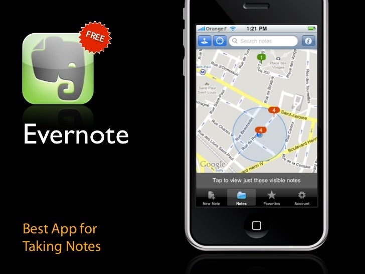 FRE             E     Evernote   Best App for Taking Notes