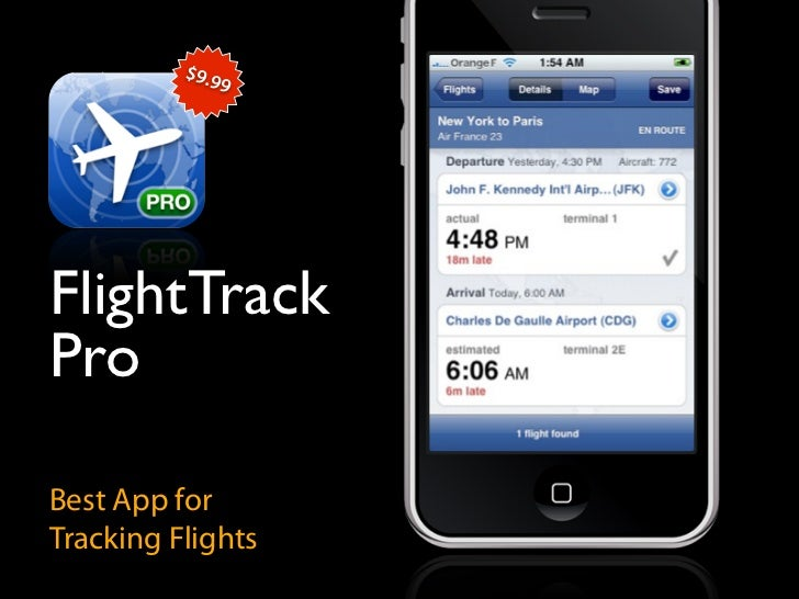 $9.9                9     FlightTrack Pro  Best App for Tracking Flights