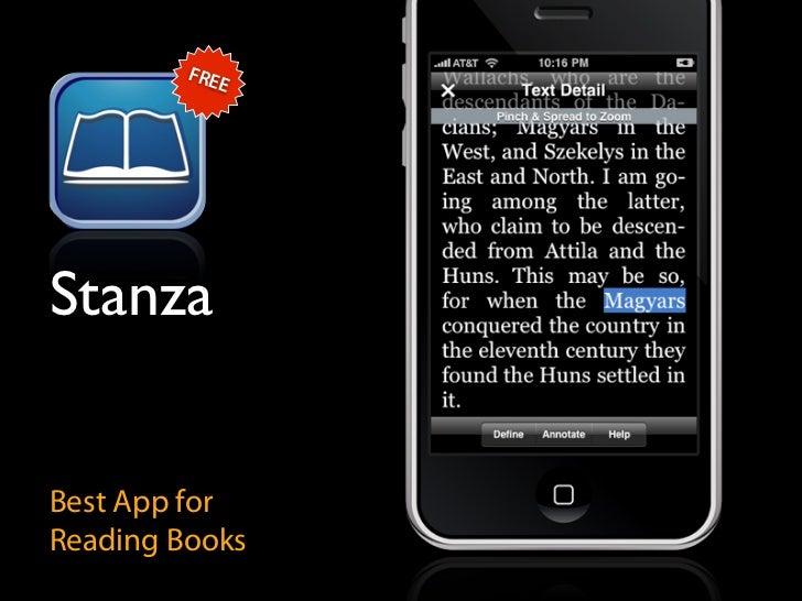 FRE             E     Stanza   Best App for Reading Books