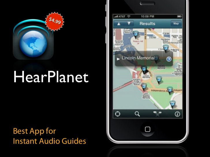 $4.9               9     HearPlanet   Best App for Instant Audio Guides