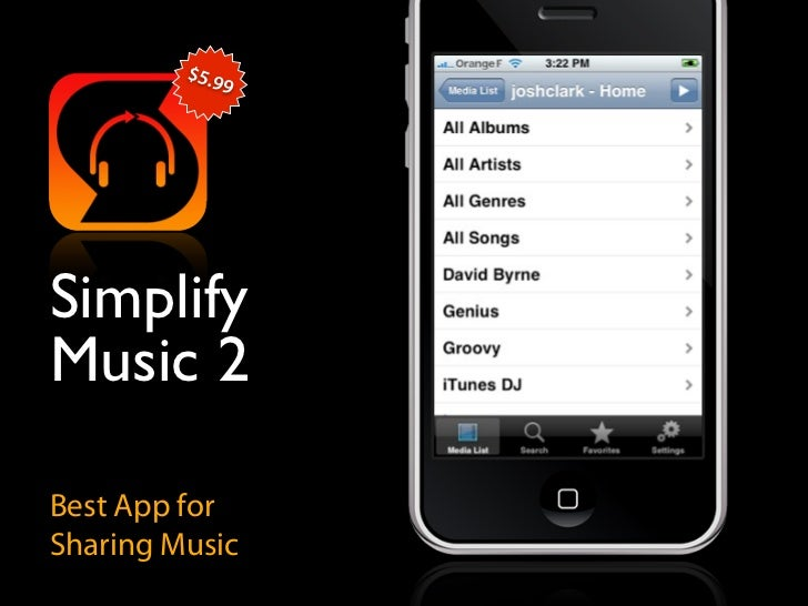$5.9               9     Simplify Music 2  Best App for Sharing Music