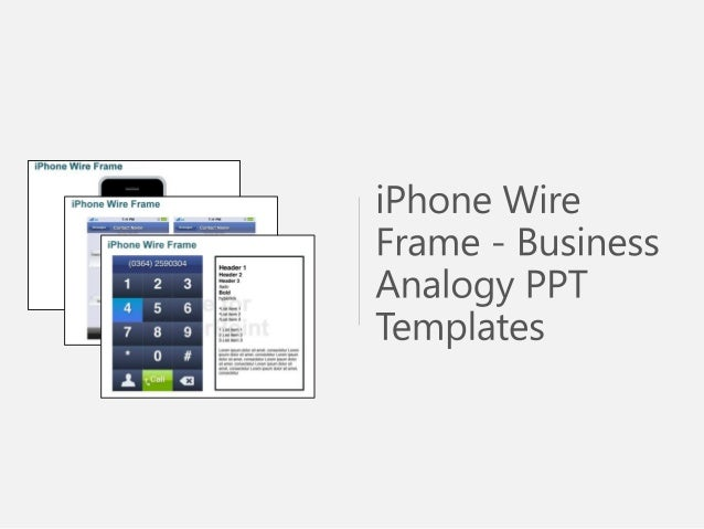 iphone wire frame powerpoint template commercial wiring powerpoint presentation commercial wiring rough in