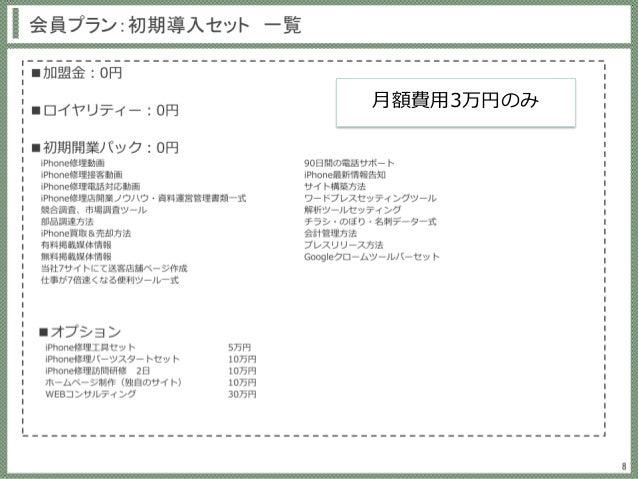 月額費用3万円のみ