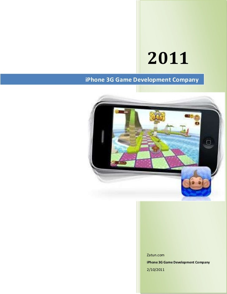 iPhone 3G Game Development Company2011Zatun.comiPhone 3G Game Development Company2/10/20112989021center<br />iPhone 3G Gam...