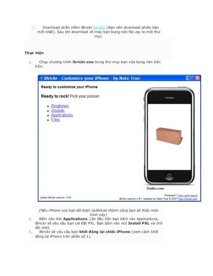 ibrickr iphone 3gs
