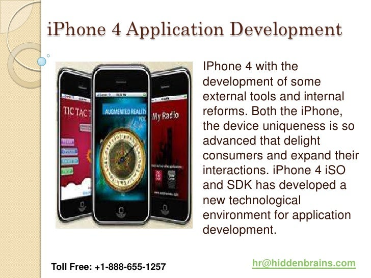iPhone 4 Application Development                             IPhone 4 with the                             development of ...