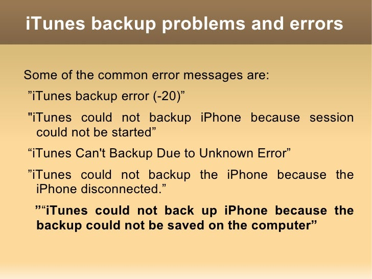 how to take backup of iphone 4