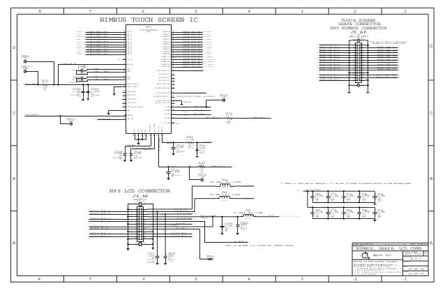 I phone 4 full Schematic Diagram on