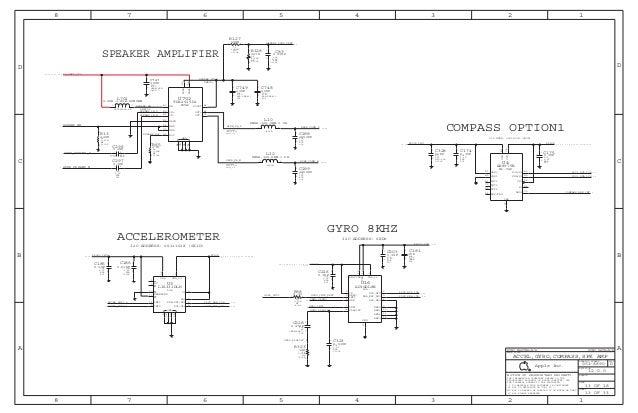 I Phone 4s Full Schematic Diagram