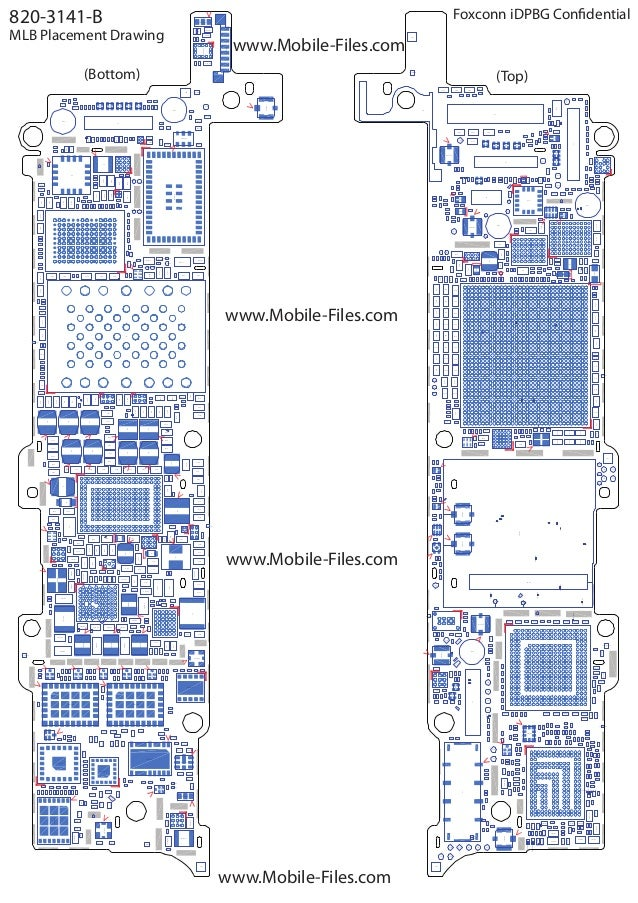 iphone 5 boardview 820 3141 b full schematic diagram rh slideshare net iPhone 6 Plus Parts Diagram iPhone 6 Plus Parts List