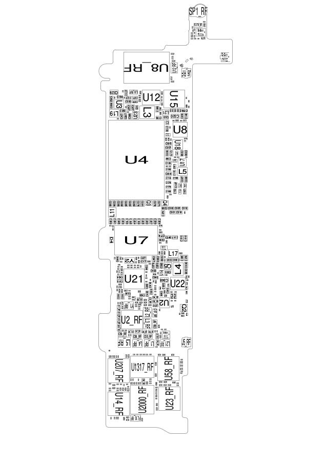 iphone 5c schematic (searchable) iphone 5s speed chart iphone 5s schematic circuit diagrams #11
