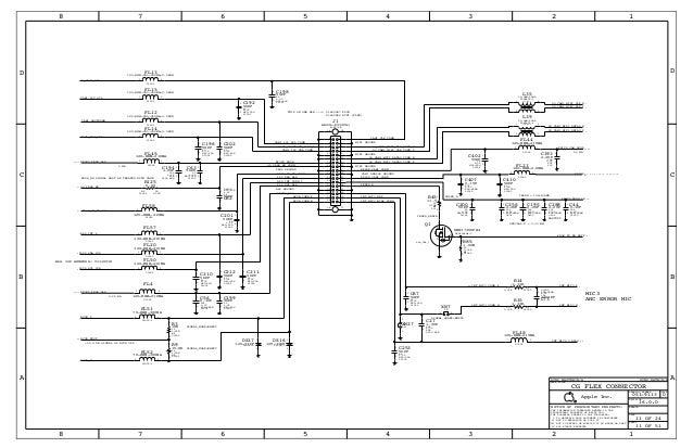 I phone 5 full Schematic Diagram 820 3141-b