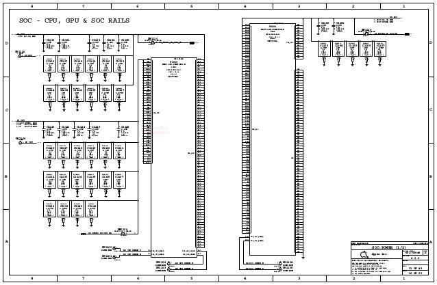 iPhone 5se full schematic diagram