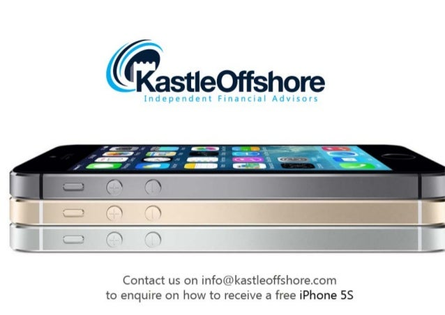 Kastle Offshore: iPhone 5S Special Offer