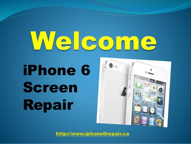 http://www.iphone6repair.ca iPhone 6 Screen Repair