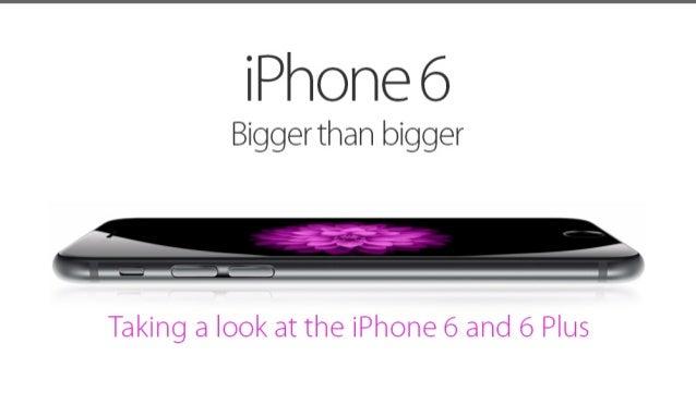 I phone6 pros -cons