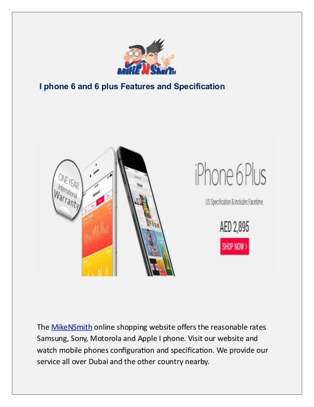 Iphone 6 Plus Price In Dubai, UAE
