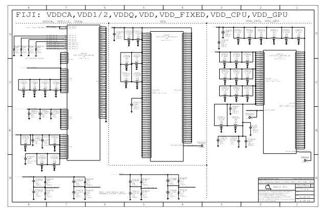 iPhone 6 full schematic diagram