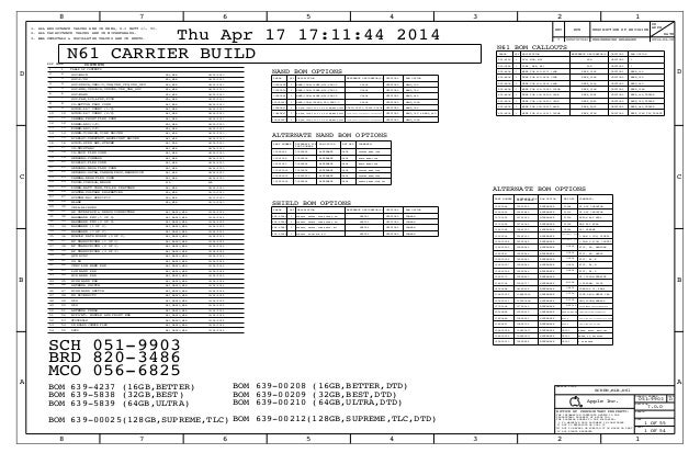 iphone6 schematic boardview n61 carrier build 8203486 schema rh 14 13 2 travelmate nz de