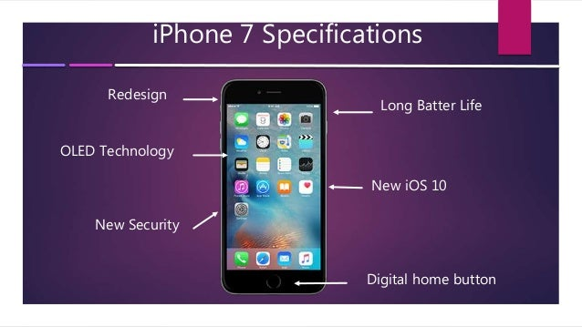 iphone 7 features iphone 7 overview with features 11530