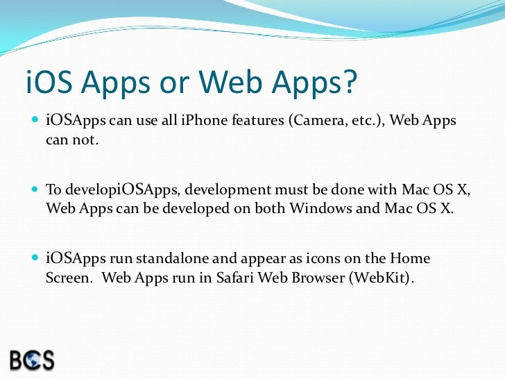 iOS & Android Application Development - Pee Dee User Group Meeting