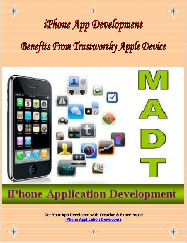 Get Your App Developed with Creative & Experienced           iPhone Application Developers