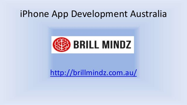 iPhone App Development Australia http://brillmindz.com.au/
