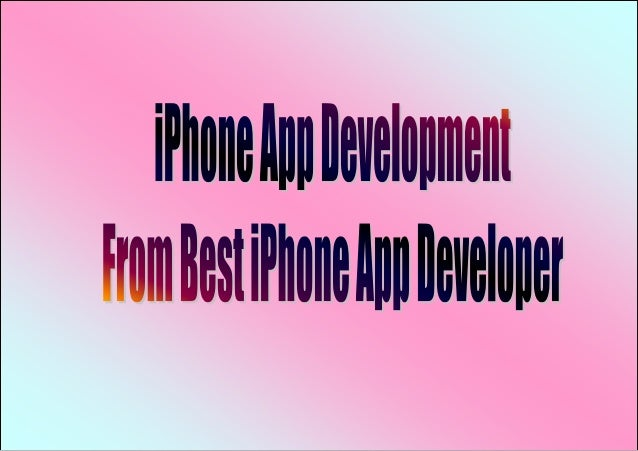 Now days, iPhone app development is the latest stain in the mobile appdevelopment market. Since the device launched, Mobil...
