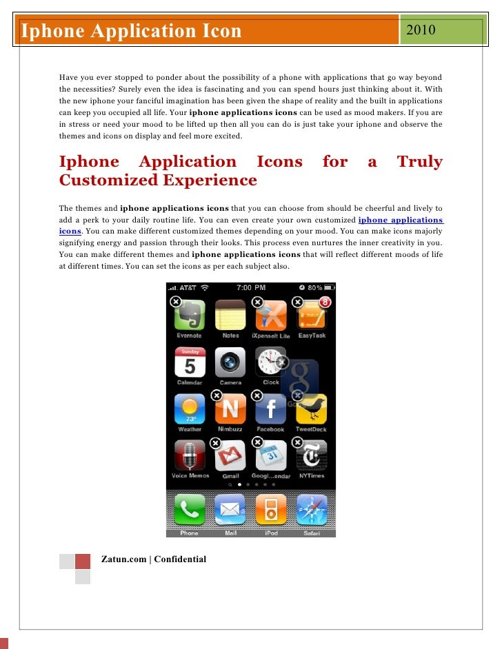 Iphone Application Icon                                                                           2010      Have you ever ...
